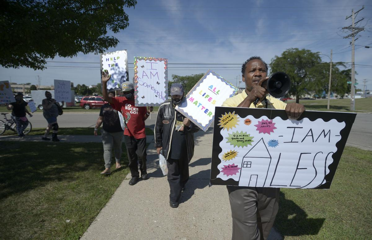 Rally for Homeless held in downtown Kenosha | Local News ...