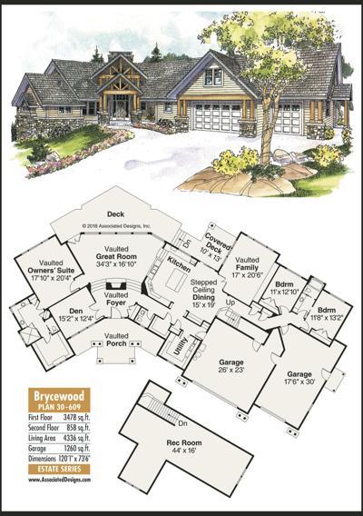 Home Plans: Brycewood