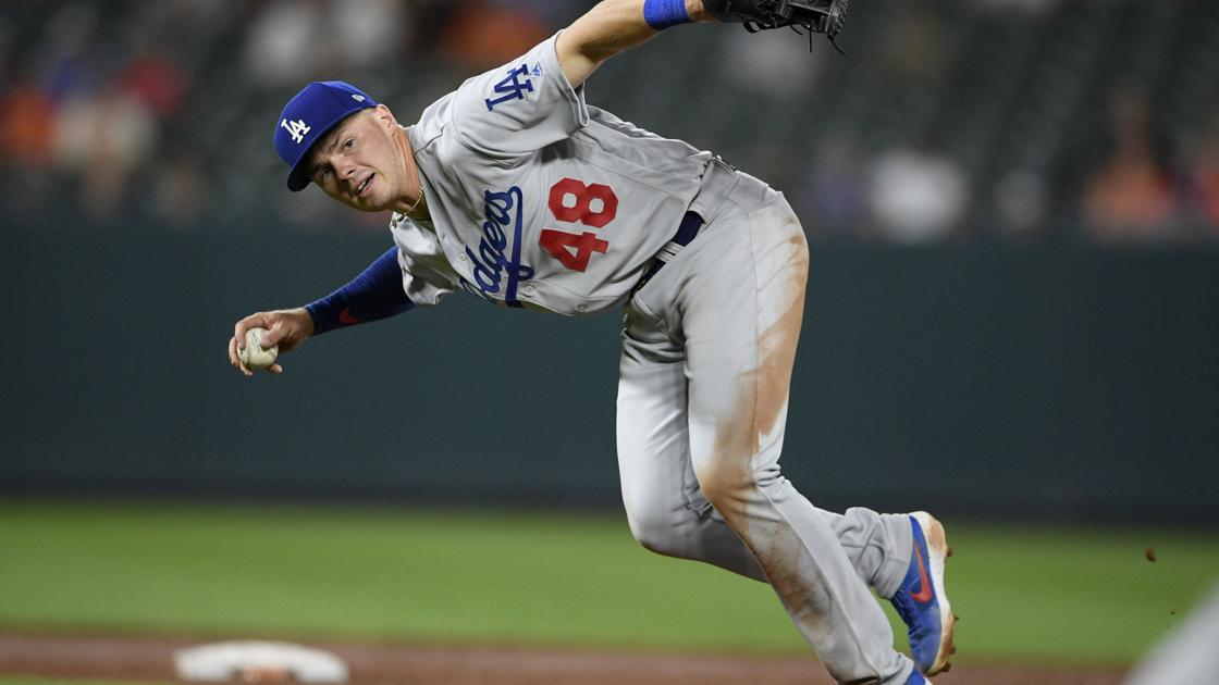 Lux not on Dodgers' World Series roster