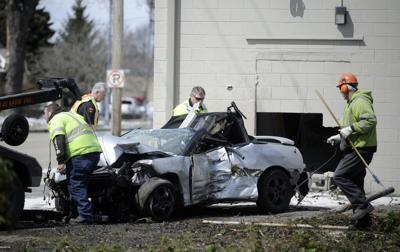 Car crashes into building on Sheridan Road | Local News