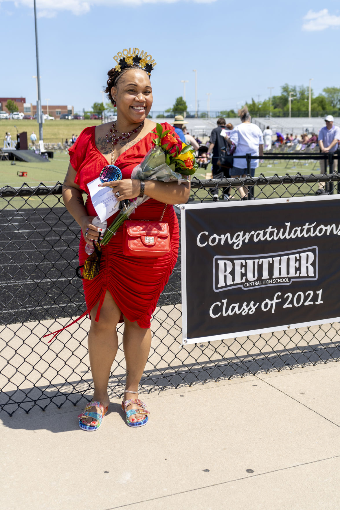 Reuther High School Class of 2021 commencement