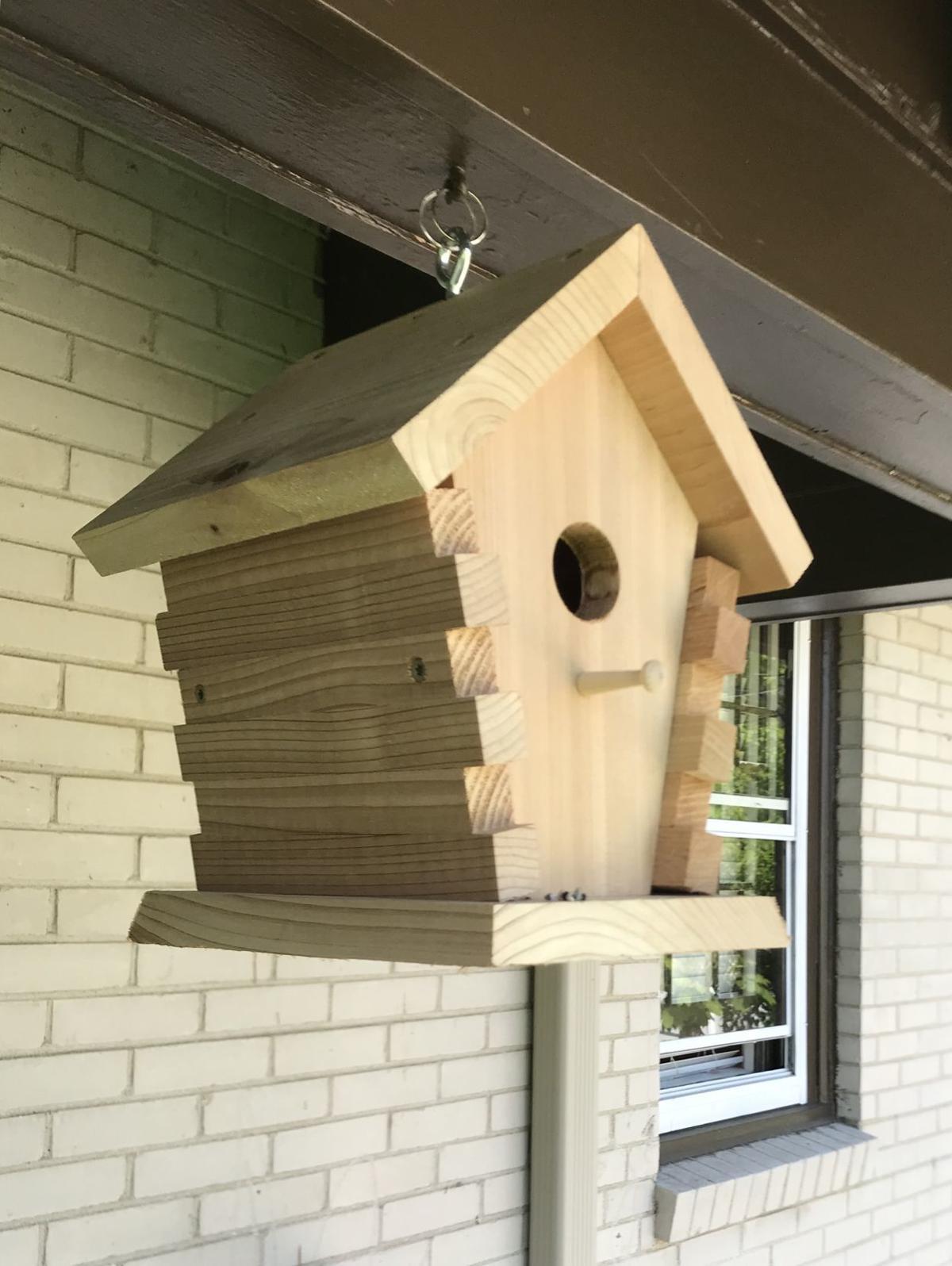 Handcrafred Cedar Bird Home by Wood N Stuff.jpg