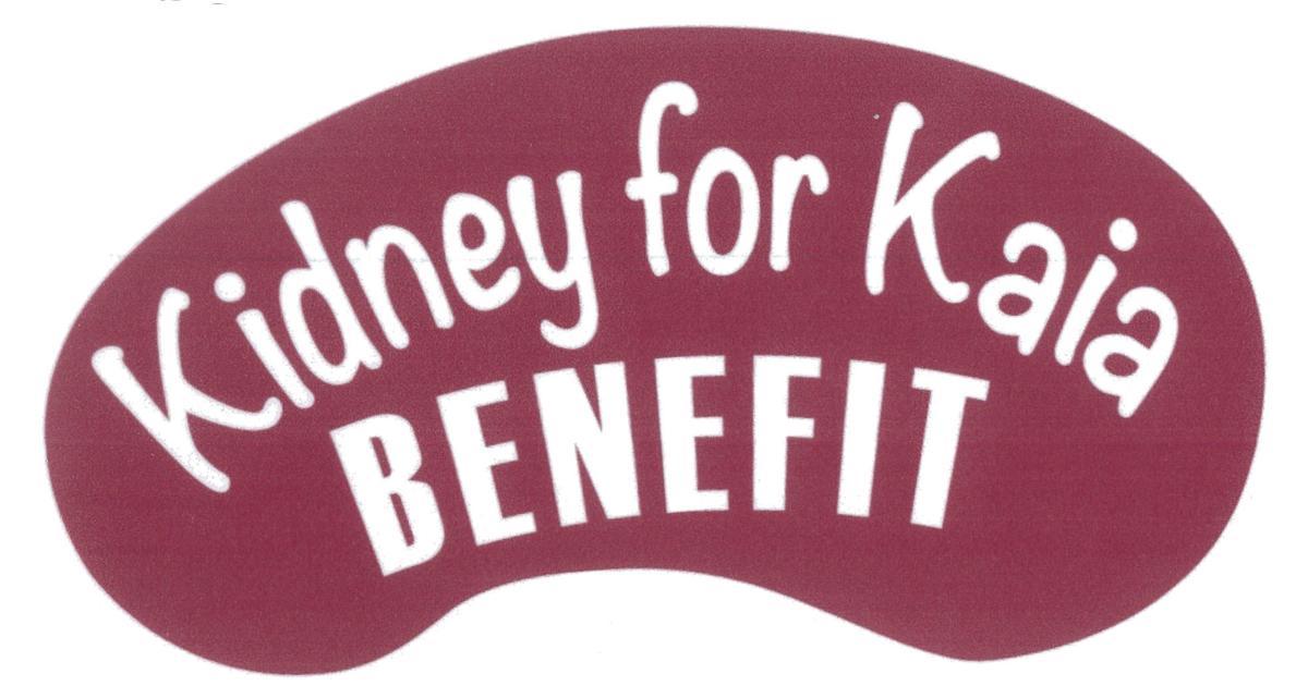 Kidney for Kaia benefit logo