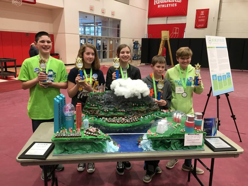 Wheatland team places fifth at Regional Future Cities Competition