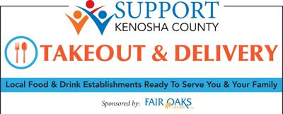 Kenosha County restaurants offering pickup and delivery