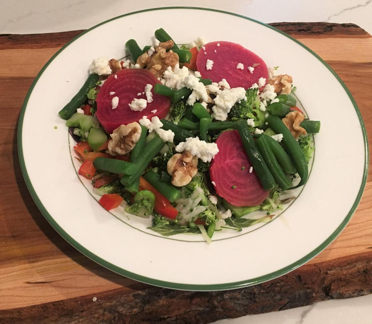 jerome-chopped salad with beets, walnuts, green beans and goat cheese.jpg