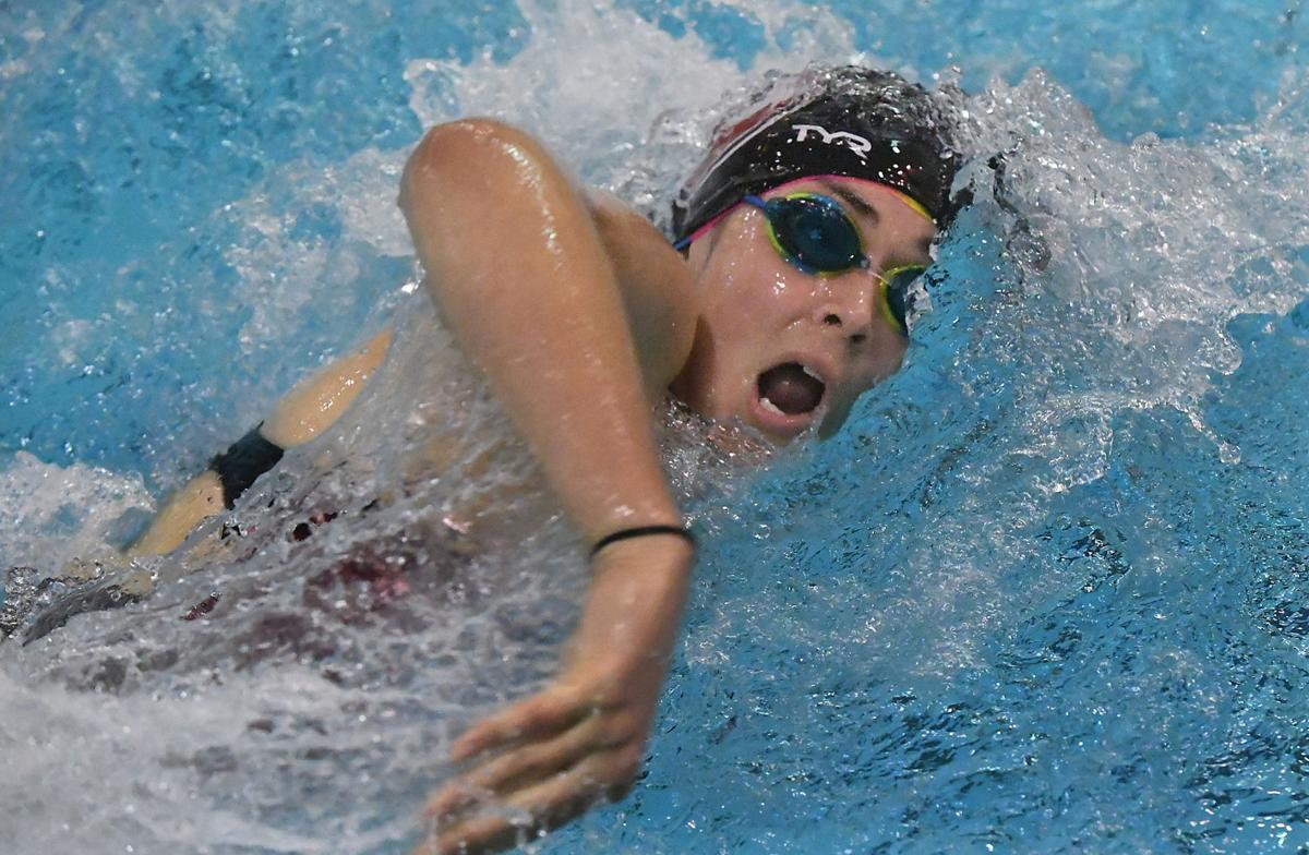 Tremper swimmers denied third sec title in a row local - Deans community high school swimming pool ...
