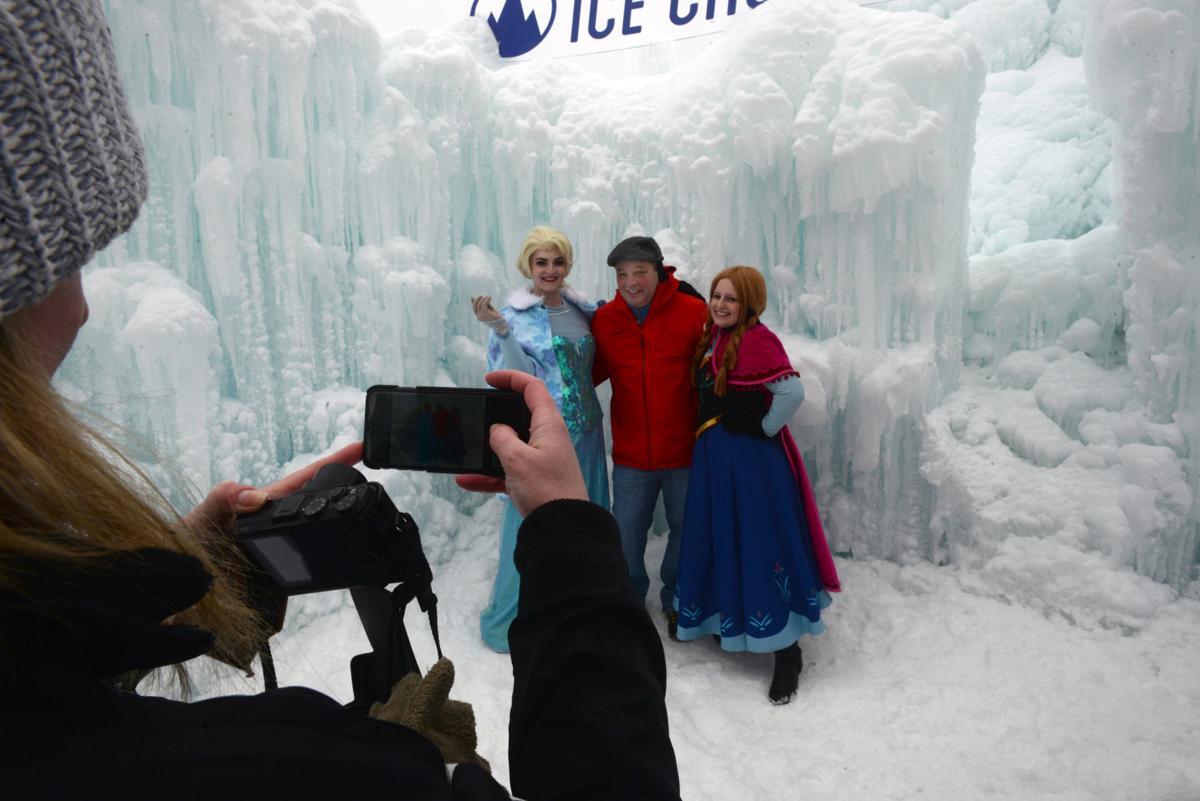 Ice castle princesses