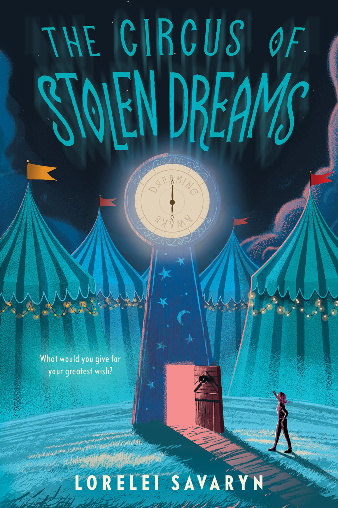 Book cover The Circus of Stolen Dreams