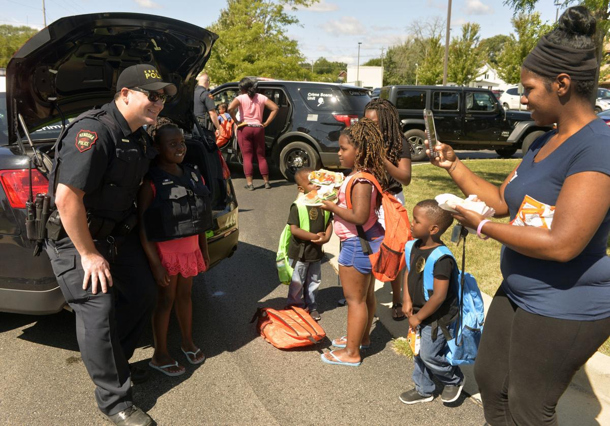 KENOSHA POLICE BACK TO SCHOOL