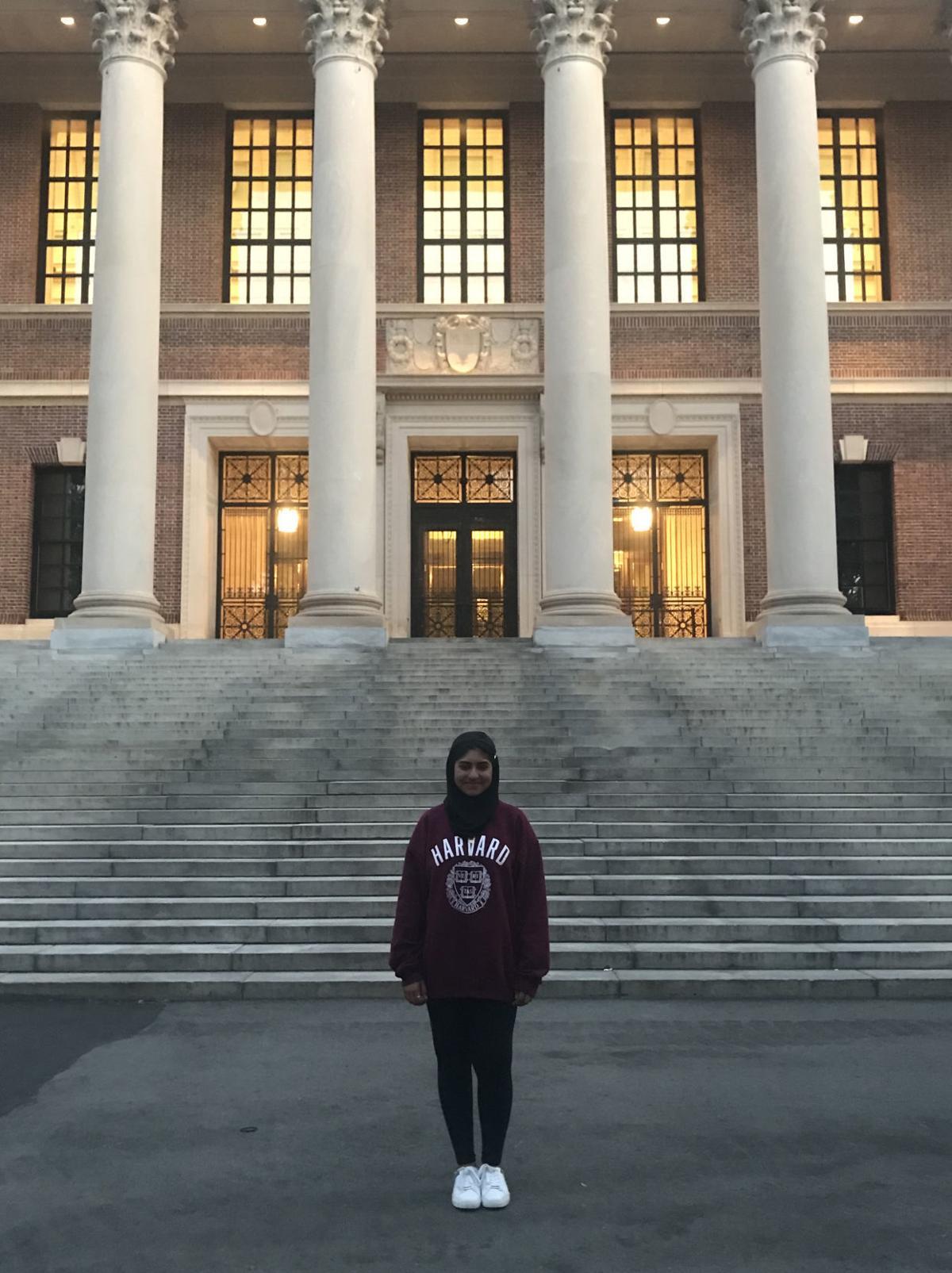 Malika at Harvard