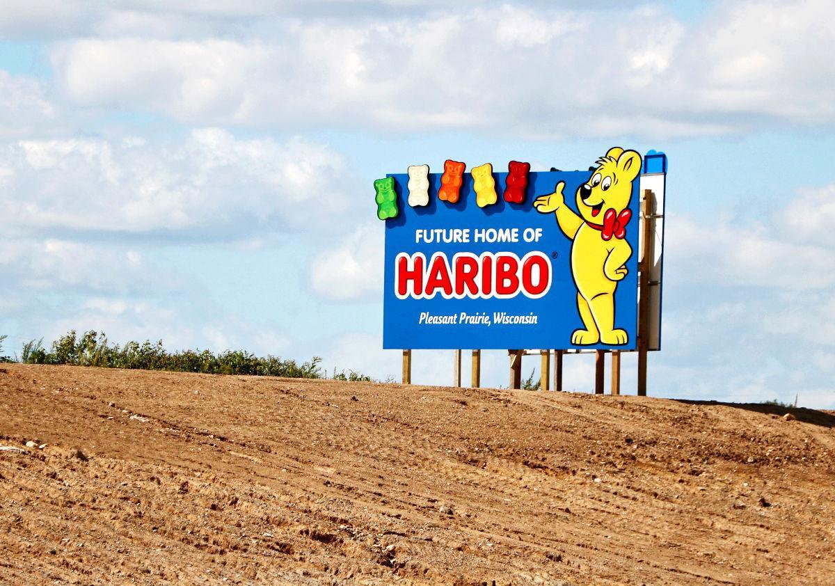 Haribo signage