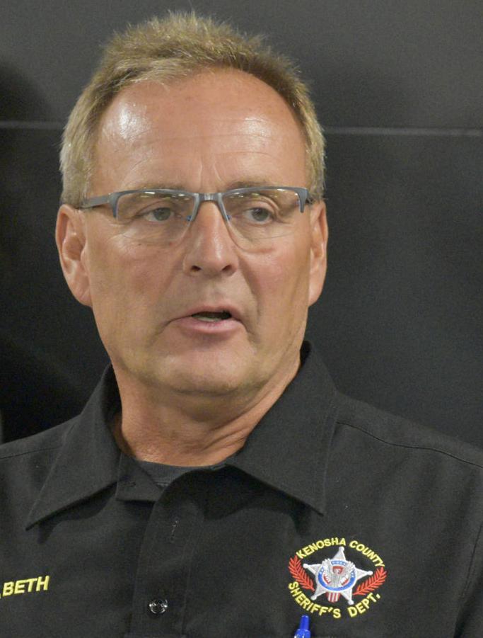 Kenosha County Sheriff David Beth