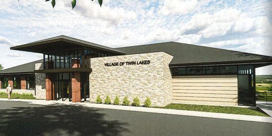 Twin Lakes Village Hall, community center taking shape ...