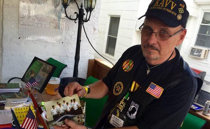 Members, supporters salute local Vietnam veterans group