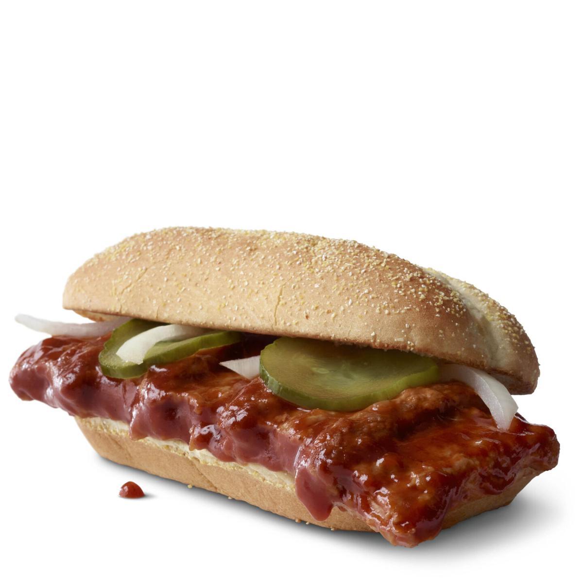 McDonald's is finally bringing back the McRib
