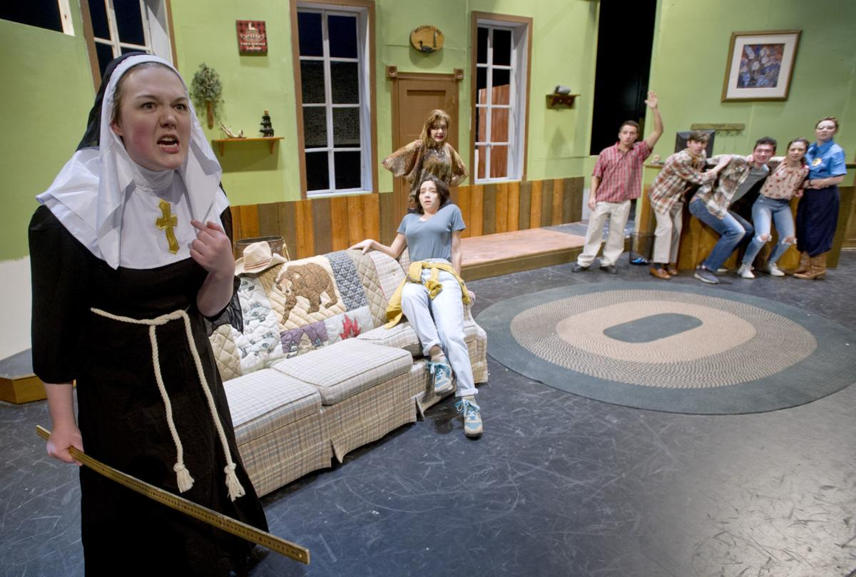 Kenosha unified delivers a pair of farces theater for Farcical person
