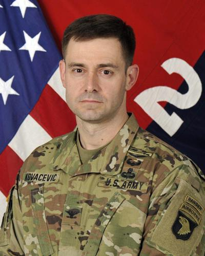 Kovacevic new Strike commander