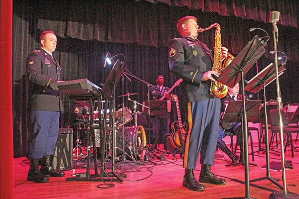 Remembering D-day: 101st band performs memorial concert, a Fort