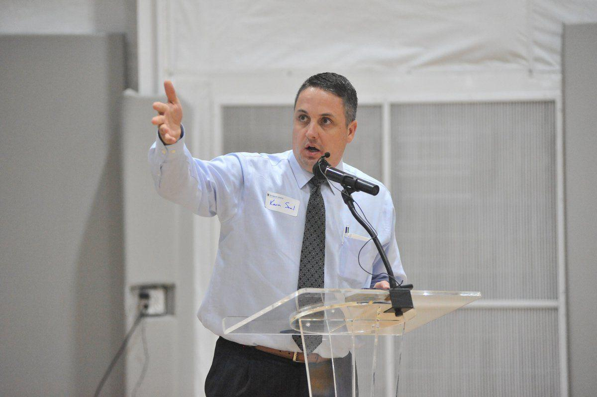 Saal talks athletic success at Sportsplex