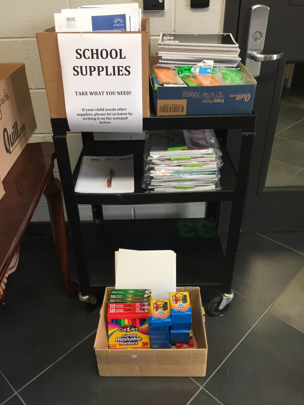 Wildcat Weekly -- School Supplies