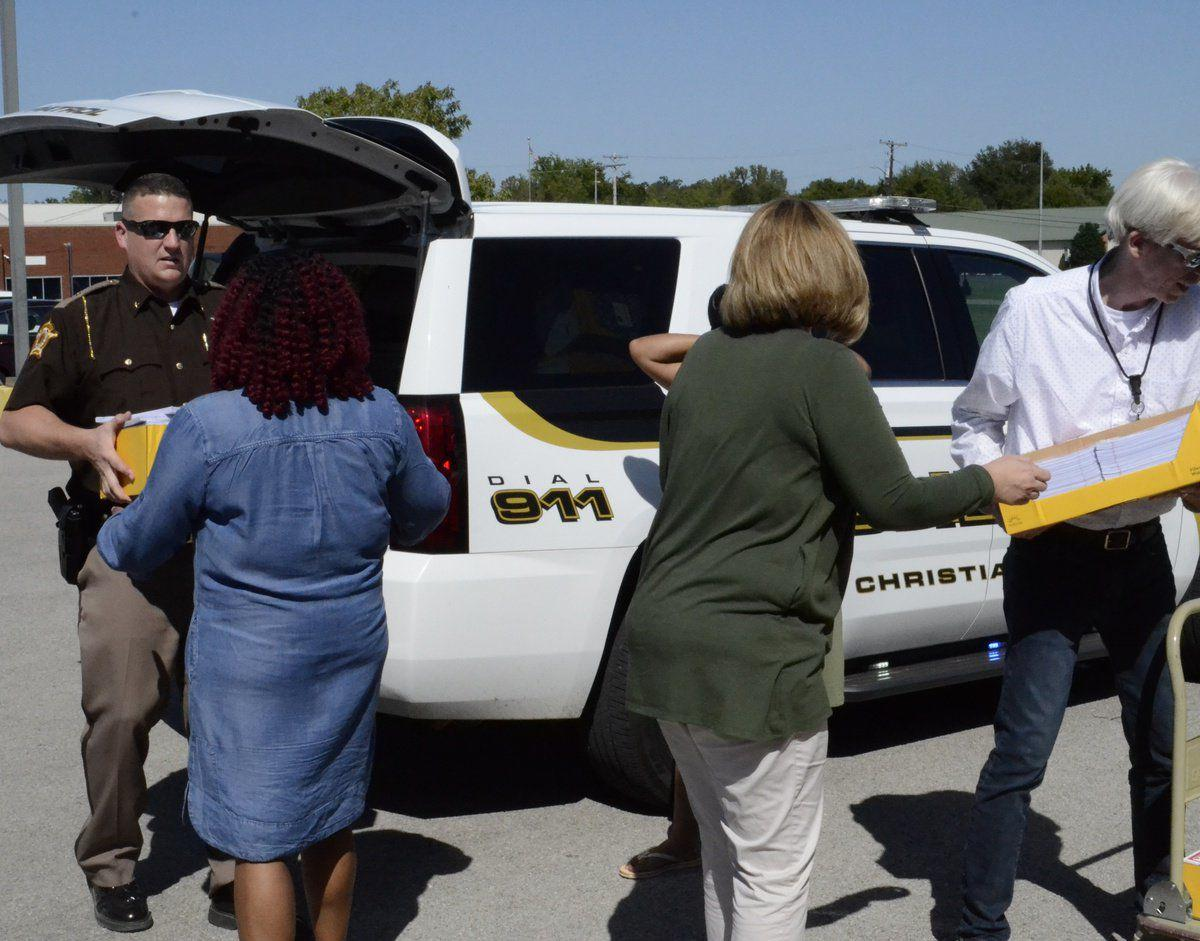 Fraternal Order of Police Lodge No. 12donates over $5,500 in school supplies