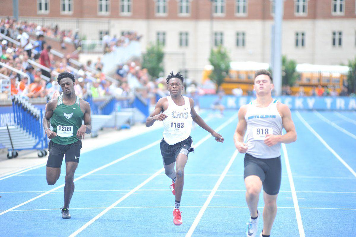 Falcons soar at 2A state meet