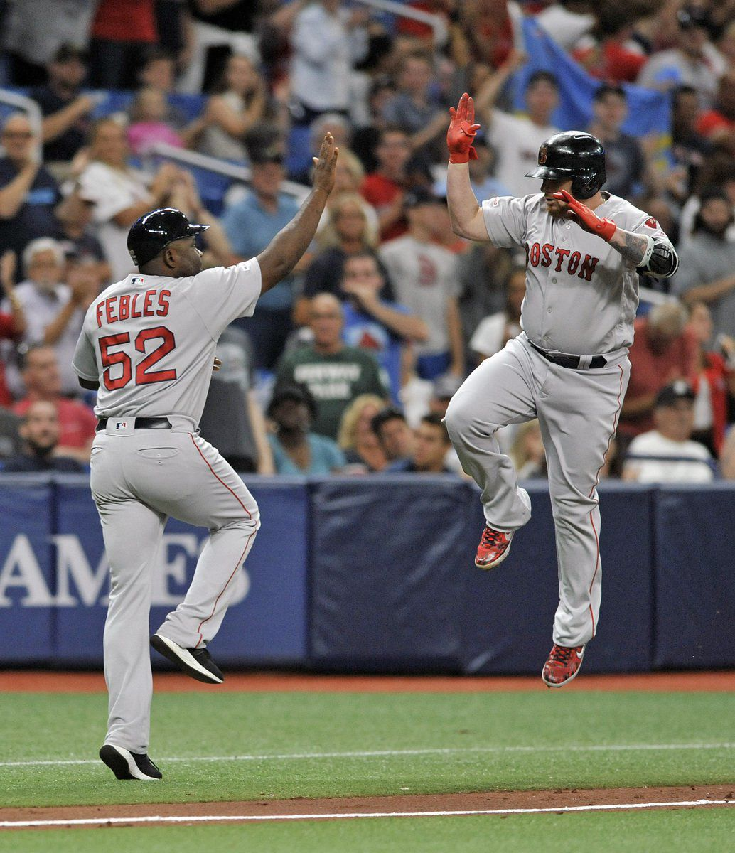 Boston moves into 2nd place in AL East