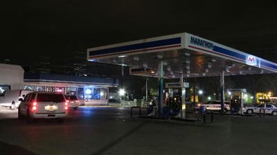 Gas station robbed at gun point