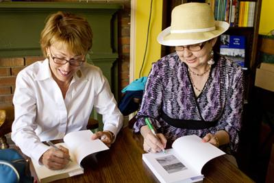 Main Street bookstore hosts double book signing