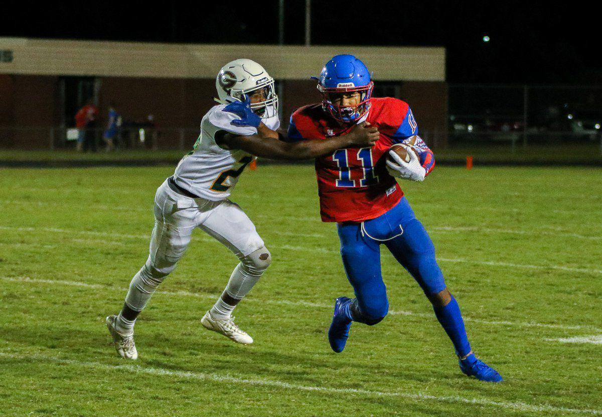 Colonels fall to Greenwood to open district play, 20-14