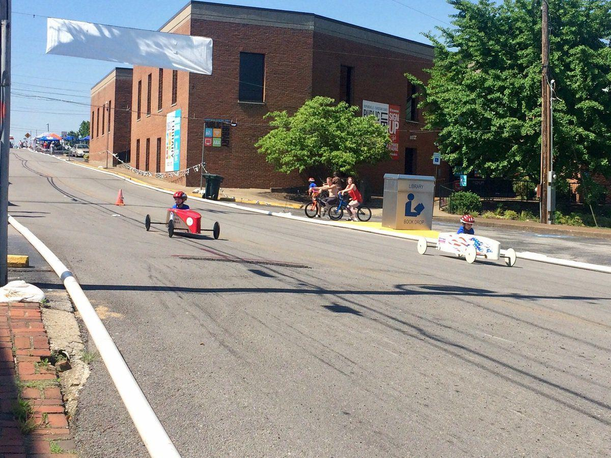 Supporters 'brake' for annual soap box derby