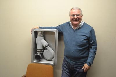 Hopkinsville man unveils 'Dryer Buddy' invention