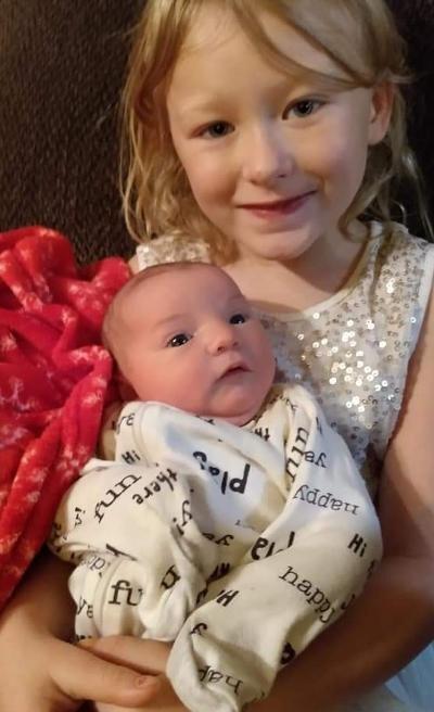 Isabella Elizabeth Michel Atkinson, 2 months
