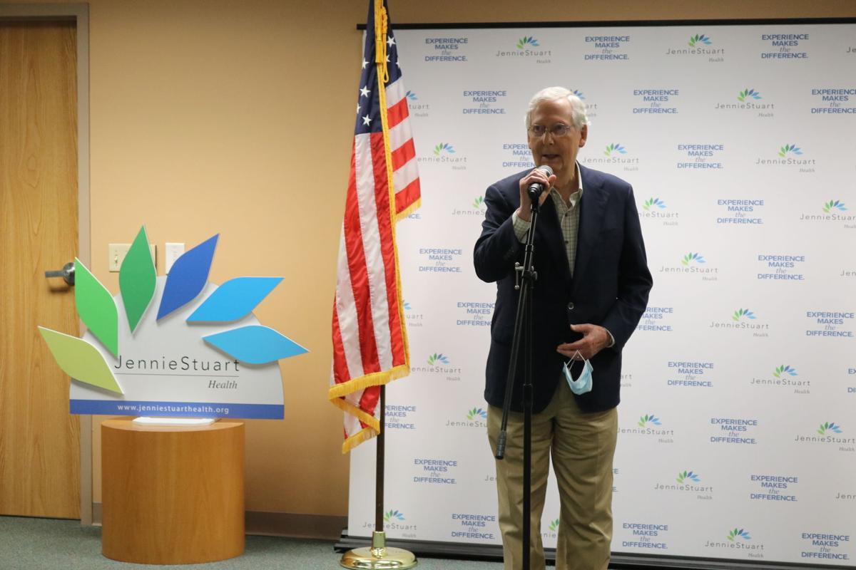 Senate Majority Leader Mitch Mcconnell Visits Hopkinsville Web Kentucky New Era
