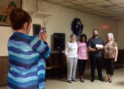 Fraternal group presents grants and donations to several recipients