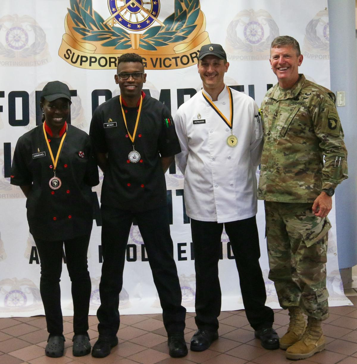 Hermann wins Week of the Eagles Culinary Competition