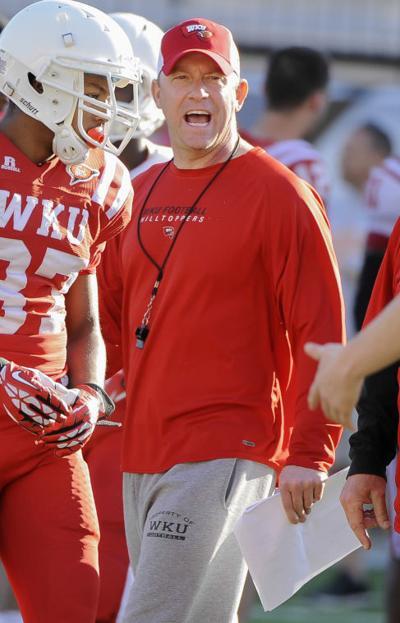 Jeff Brohm winding down 1st spring as WKU coach | Sports ...