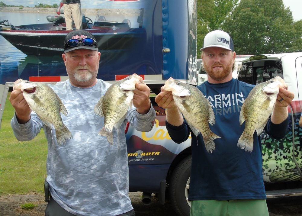 Crappie USA Lake Barkley Mega Bucks First Place