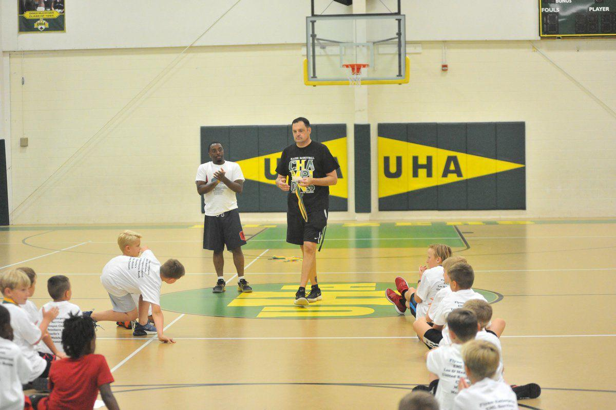 UHA's Shouse wraps up 7th hoops camp