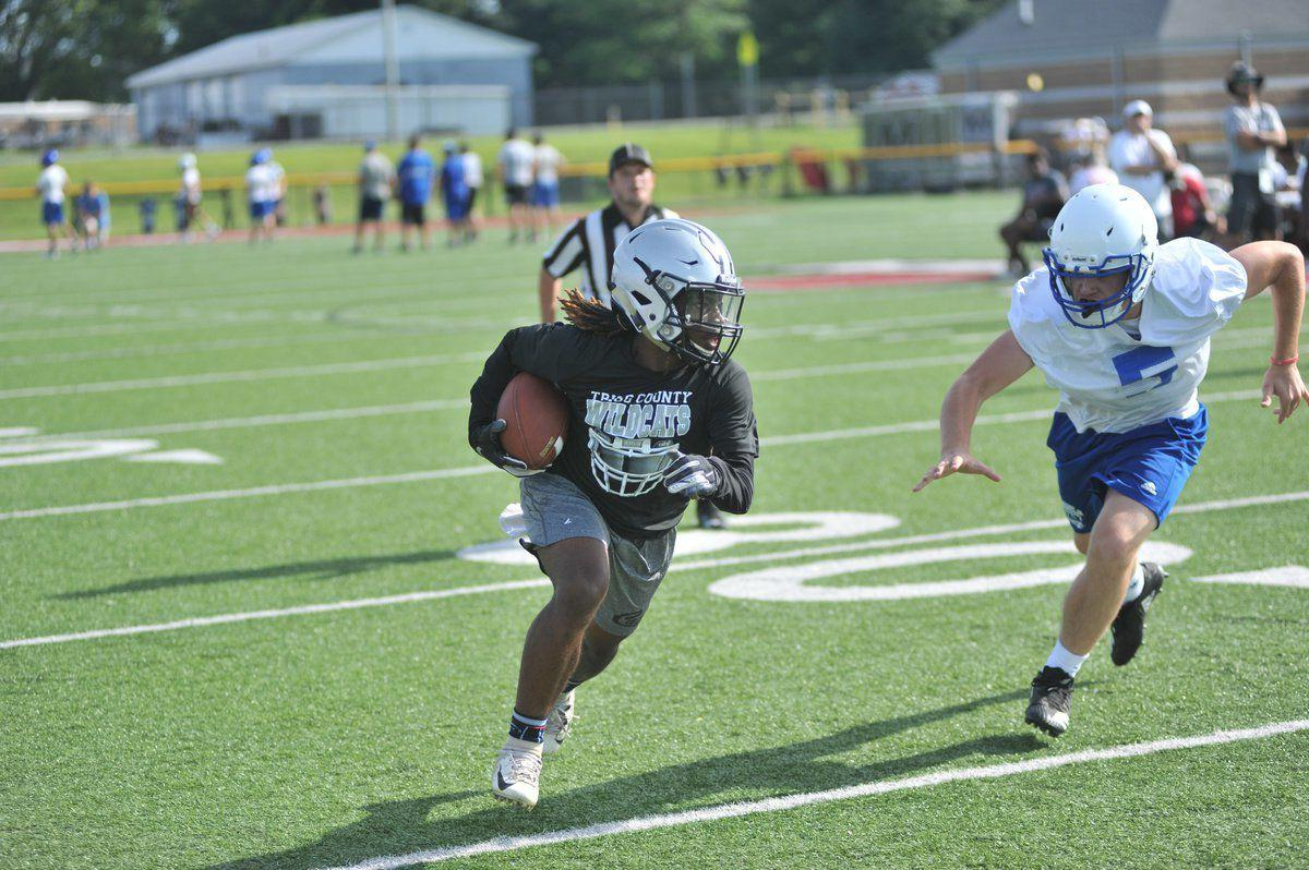 Wildcats bounce back at Mustang's 7-on-7