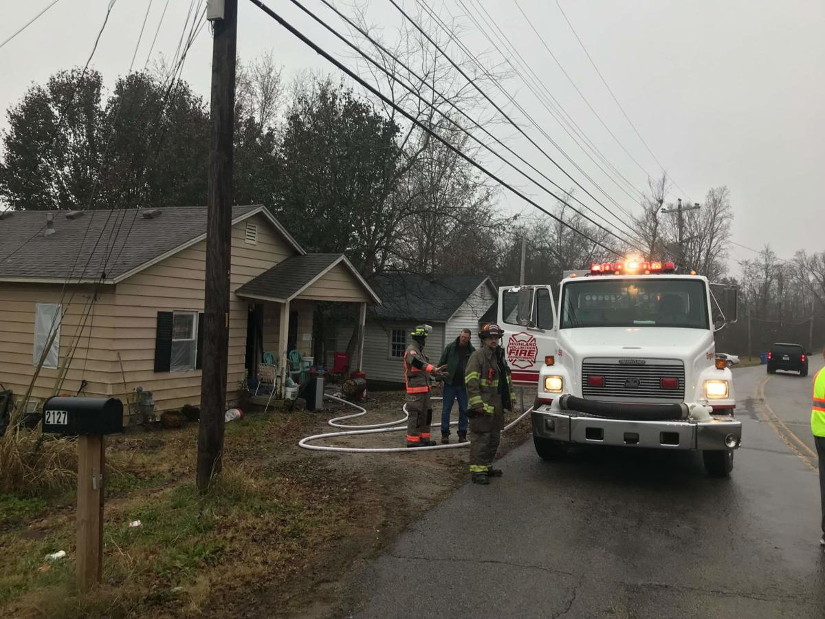 Small heater caused fire on Butler Road