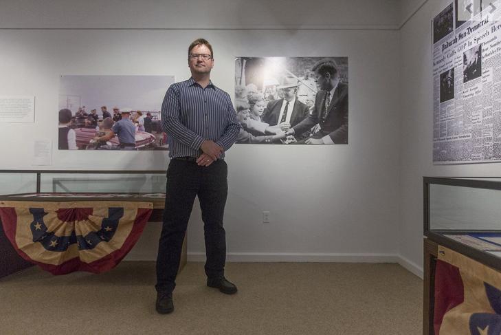 Murray exhibit examines JFK in western Kentucky in '60 race
