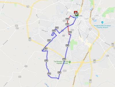 Plan for road closures Saturday for Hoptown Half/5K