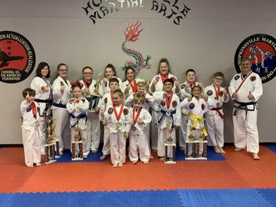 Martial artists bring home hardware