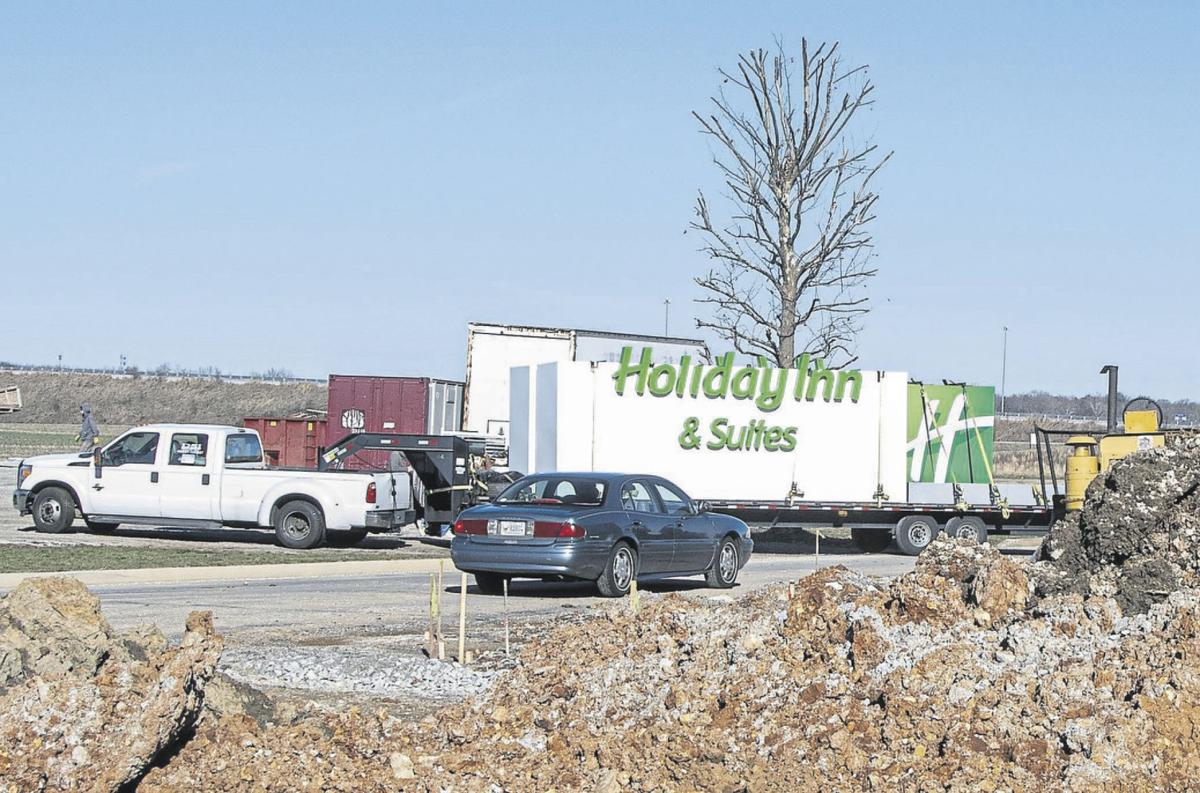 Holiday Inn & Suites nearing completion Hiring event set for this weekend