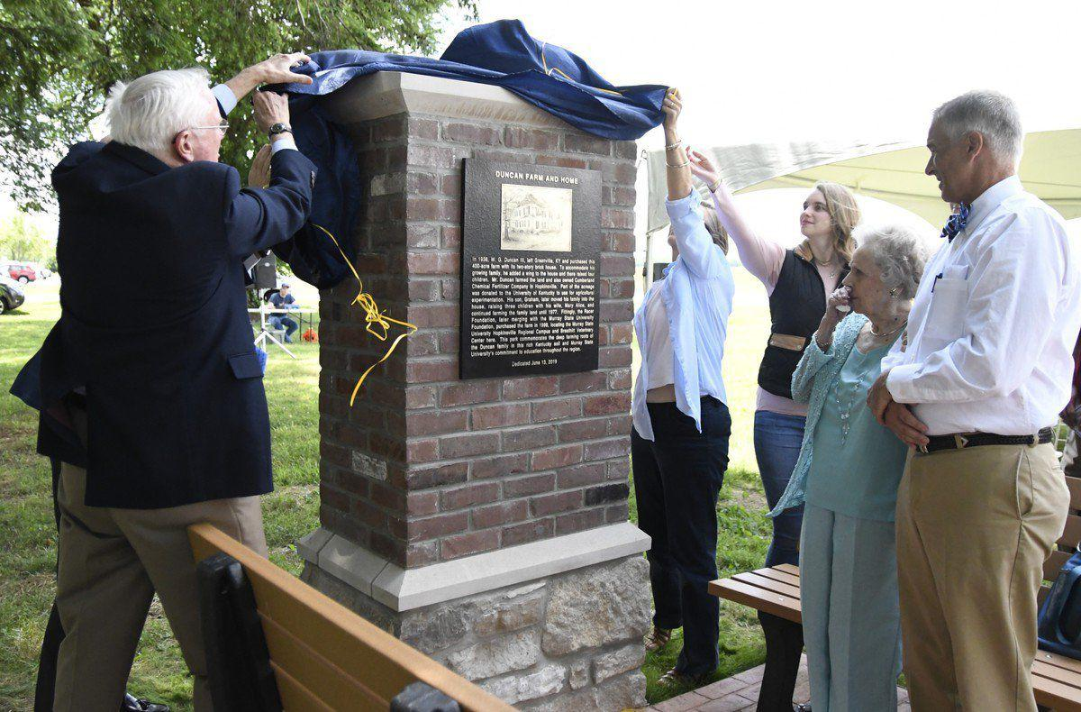 MSU regional campus honors Duncan family with park dedication