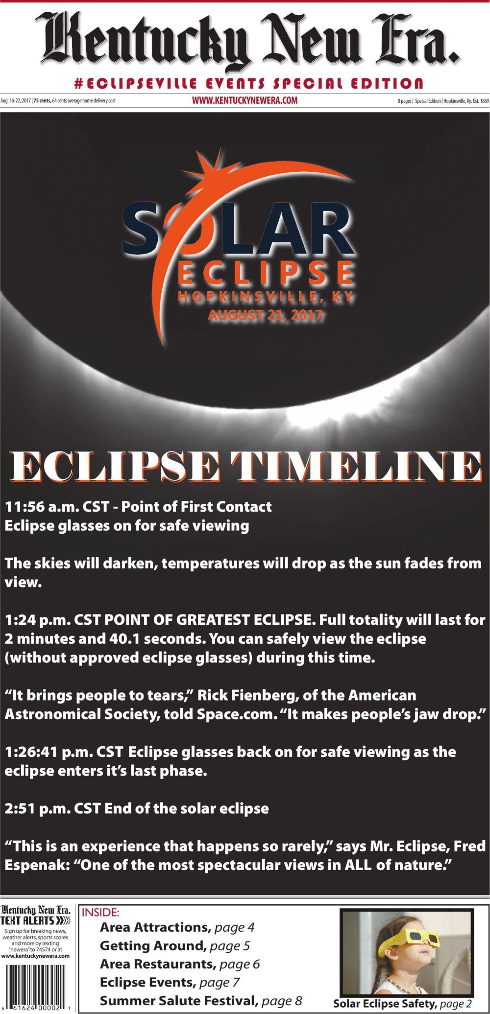 #ECLIPSEVILLE EVENTS SPECIAL EDITION
