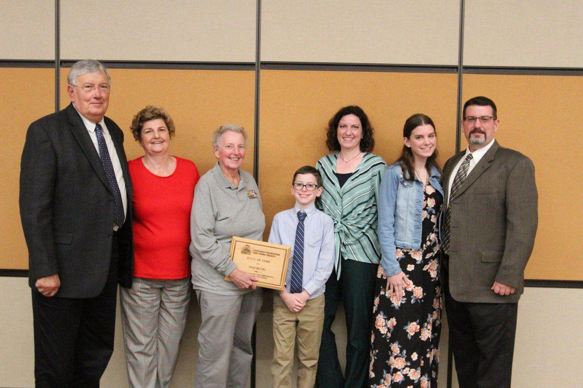 Longtime rec employee Rudd inducted into Hall of Fame