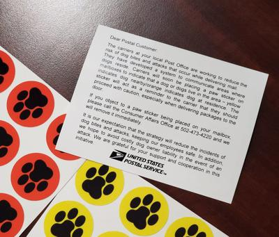 Council hears about USPS PAWS initiative Stickers will indicate areas, homes with dogs
